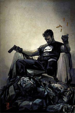 » Anteprima e prime tavole per The Punisher#1 di Becky Cloonan e Steve Dillon