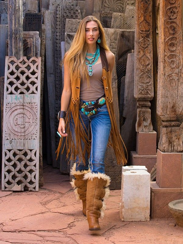 ~ Brit West's Wild West Fringe Vest. 50% off Originally priced at $698. Two Small Samples available! The most amazing lamb suede fringe vest you will ever wear. A perfect finish to any western outfit! Two button front, more form fitting and coverage. . Handcrafted deer is velvety soft with a sensual fluid drape and feel. ~