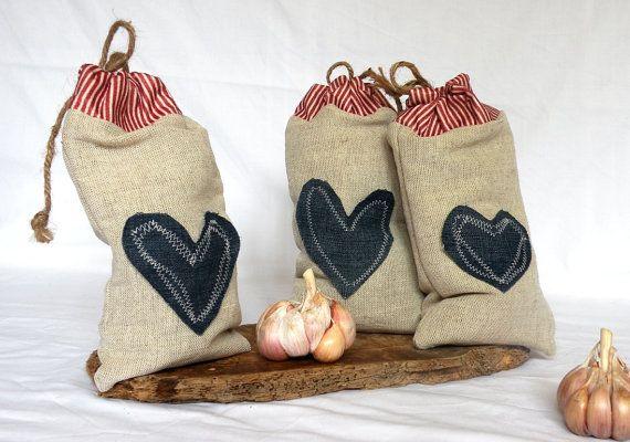 linen bags candy bags natural linen organic linen gray bags