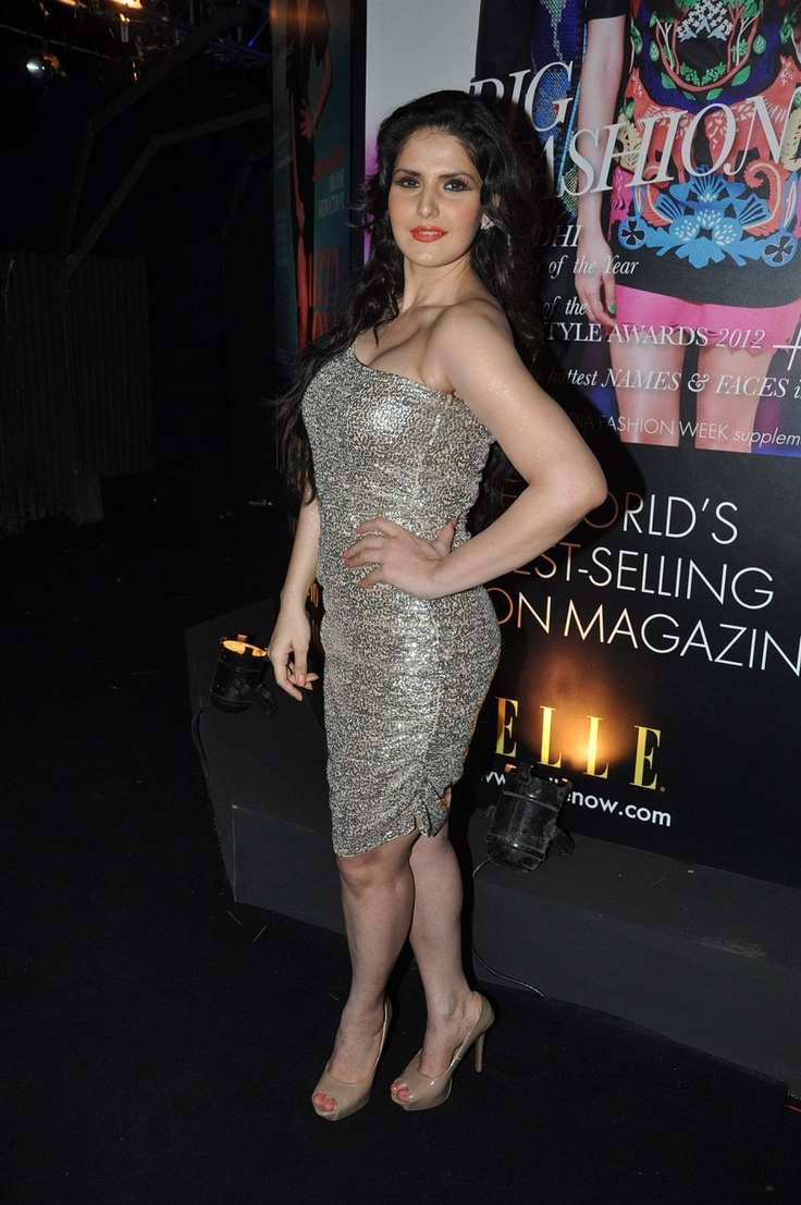 Zarine Khan at Grey Goose Style Du Kour Spirit of Style Party