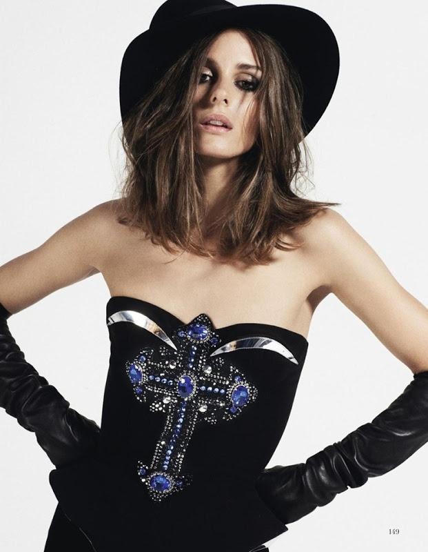 Olivia Palermo by Quentin De Briey voor Vogue Spanje