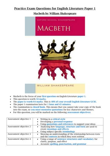 150 best images about Secondary: Macbeth on Pinterest | Assessment ...