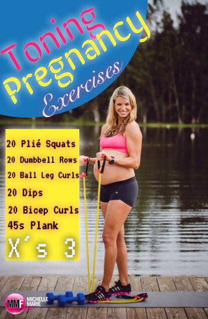 So great that these #PREGNANCY #WORKOUTS can be done at home. Another one on this blog. http://michellemariefit.publishpath.com/minimal-weight-gain-pregnancy-workout