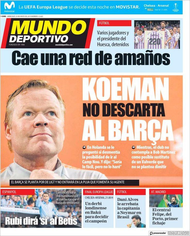 20190529 Periódico El Mundo Deportivo (España