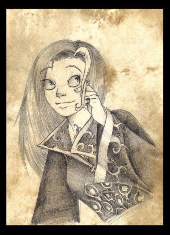 Tara Duncan fanart - Dessin crayon (auteur inconnu)