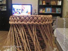 Мастер-класс Плетение Две загибки- принцип один Трубочки бумажные фото 15