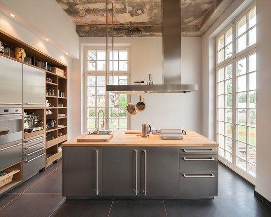 Home Decor kitchen single-wall 1 インテリア実例 キッチン 壁付けレイアウト アイランド1