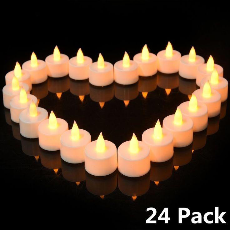 best 25 led tea lights ideas on pinterest large glass bowl diy candles for wedding and diy. Black Bedroom Furniture Sets. Home Design Ideas