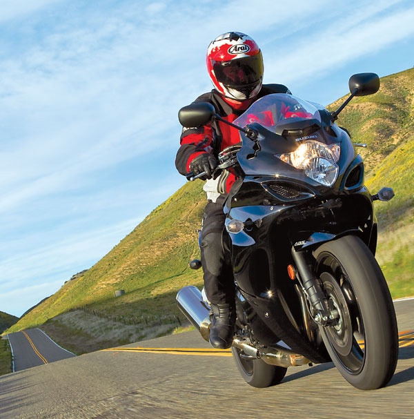 2011 Suzuki GSX1250FA, featured in the June 2011 issue of Rider magazine.