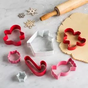 Create fun Christmas cookies with our selection of Christmas cookie cutters.