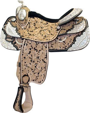 Tex Tan Grand National Show Saddle | ChickSaddlery.com