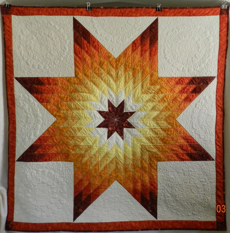 lone star quilt pattern | Lone Star is Done!!