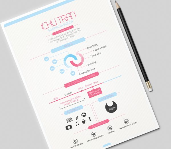 15 Minimalistic Resume Designs for Your Inspiration - Kickresume