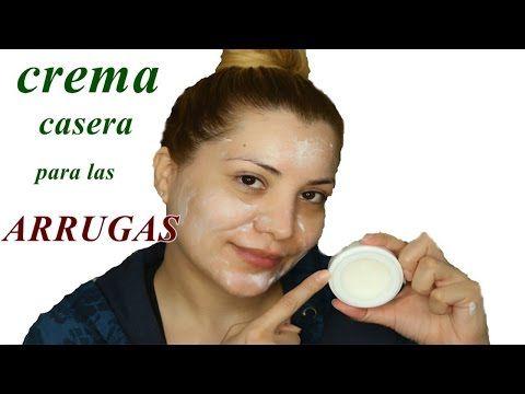 potente crema casera para las arrugas - crema  natural antiarrugas | DIY  homemade wrinkles cream - YouTube