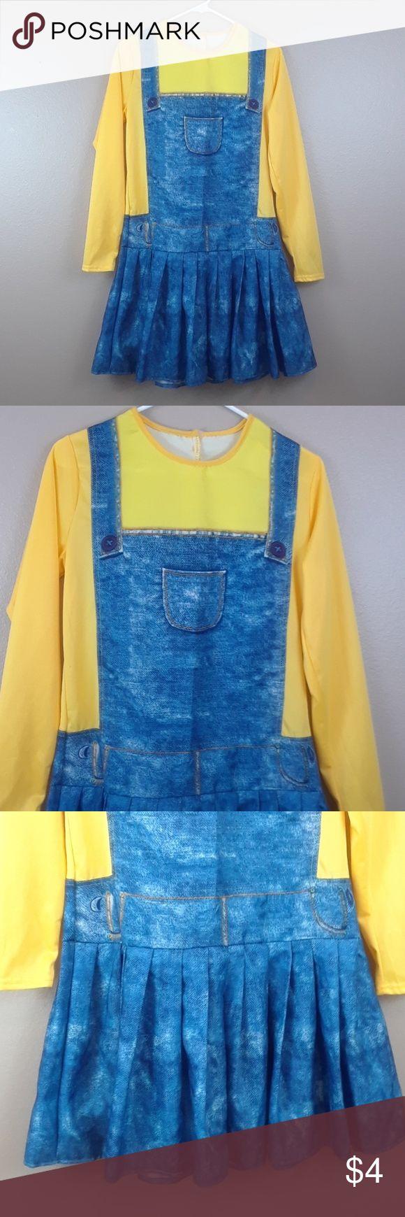 BOGO MINIONS HALLOWEEN COSTUME BOGO BUY ONE GET ONE FREE Size medium, Velcro closure in back. Illumination Dresses Midi