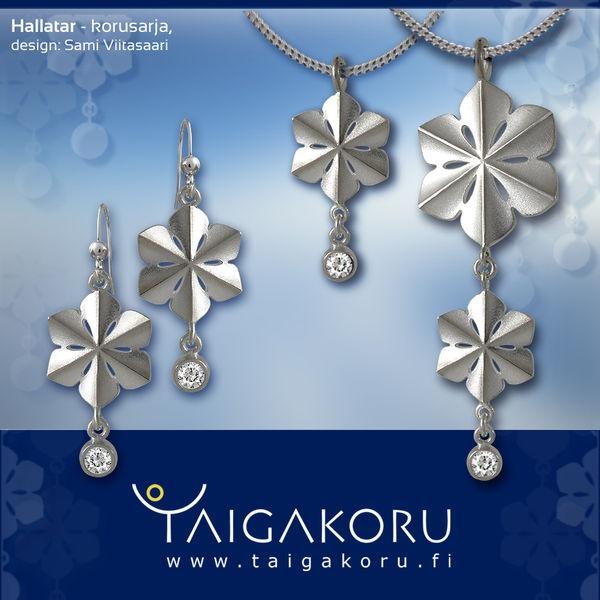 SnowQueen, pendant, silver.