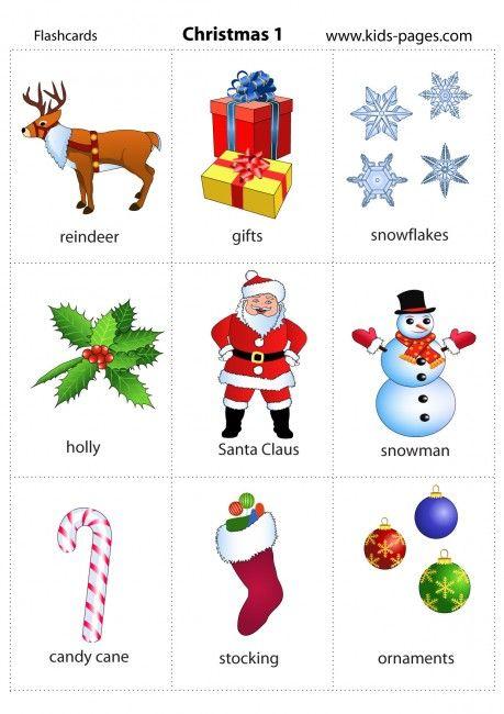 Christmas 1 flashcard