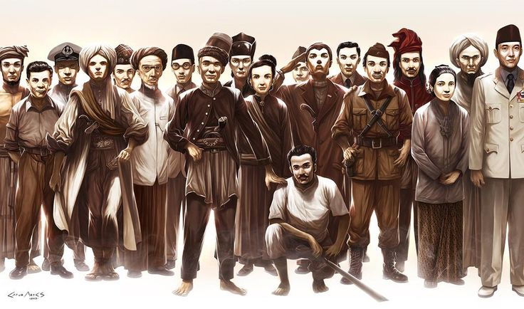 Indonesia's National Heroes