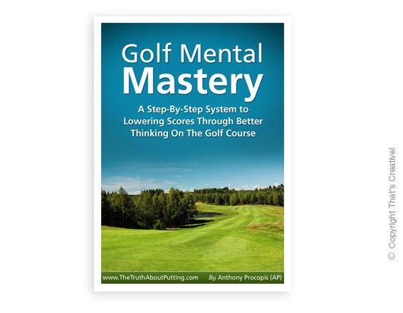 Golf Mastery Ecover Design  (Ebook Cover Design) by www.thatscreativeebookdesign.com.