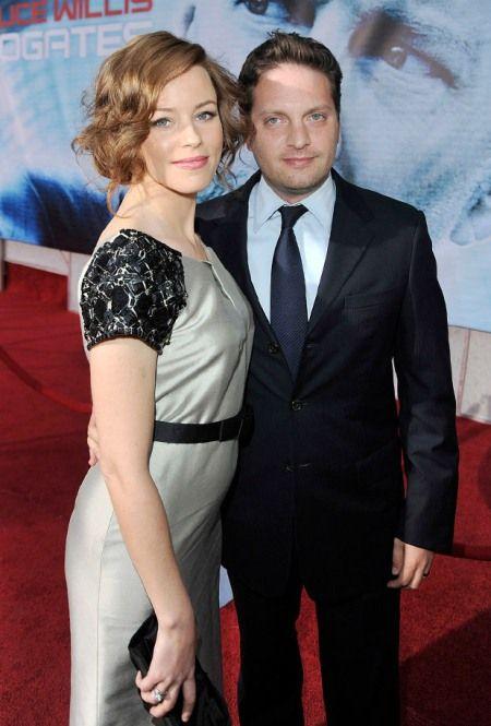 Elizabeth Banks with her spouse Max Handelman