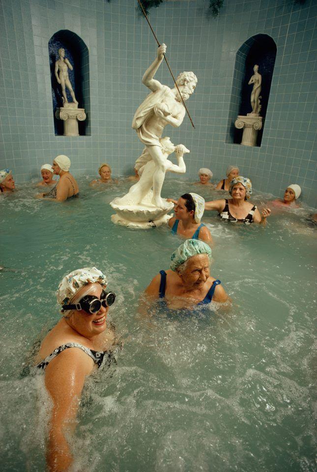 Cultural swim, Florida. 1973 – Lili