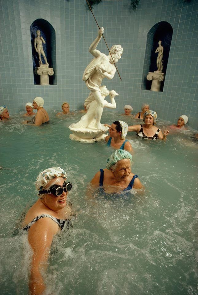 Cultural swim, Florida. 1973