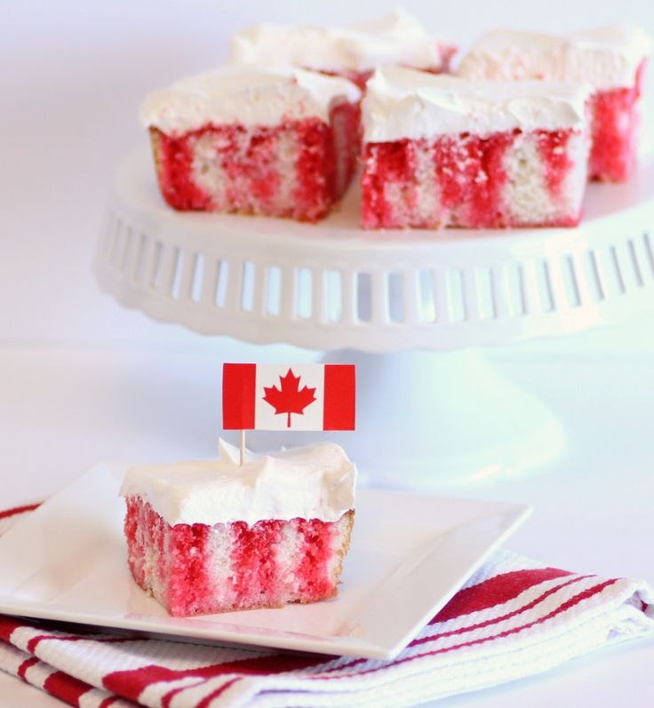 Great Canadian Poke Cake