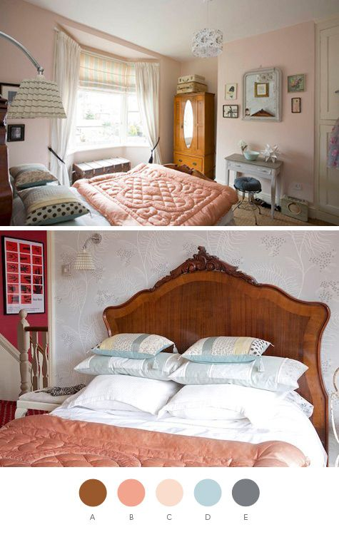 salmon color bedroom color scheme brown salmon ish pink pale pink light 13114
