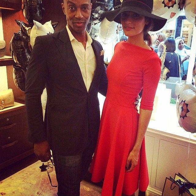 Jo Renwick in S-Dress Danielle (red).