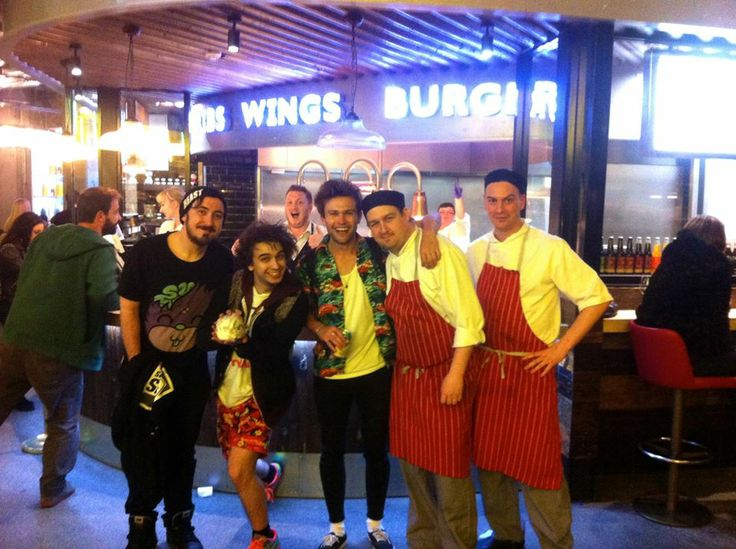 The Midnight Beast at The Chicago Rib Shack, Leeds !!! Did you spot them? Thanks guys for stopping by