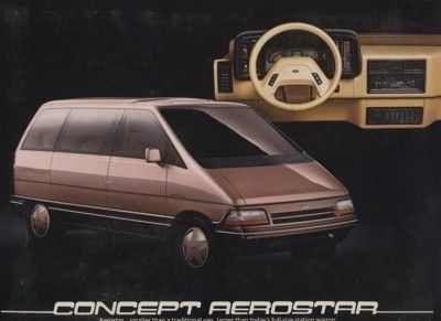 1984 Ford Aerostar Concept