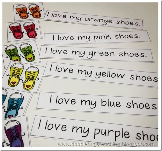 """""""I"""" and color words"""