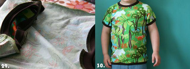 T-shirt Tutorial by Mamasha op Flickr, via Flickr
