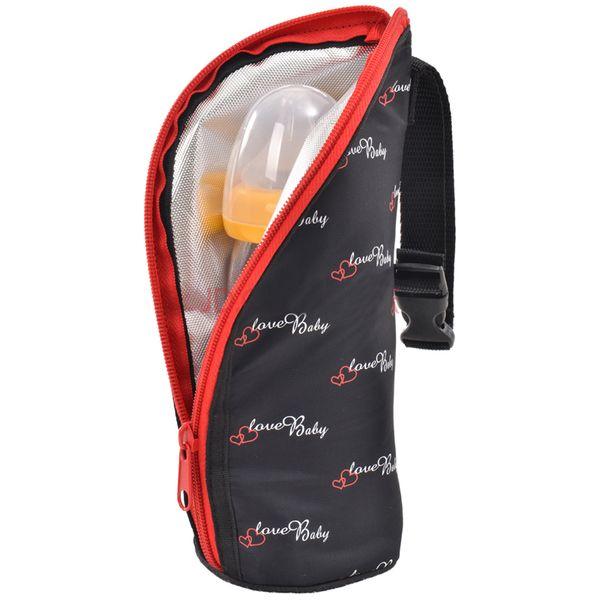 贝亲宝宝奶瓶保护套防摔玻璃奶瓶保温套袋子GA22GA23便捷携带保温