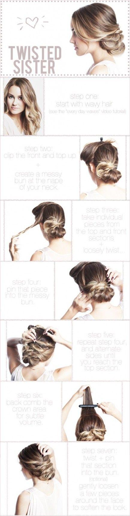 Easy Hair Tutorials for Hair Bun Alternatives