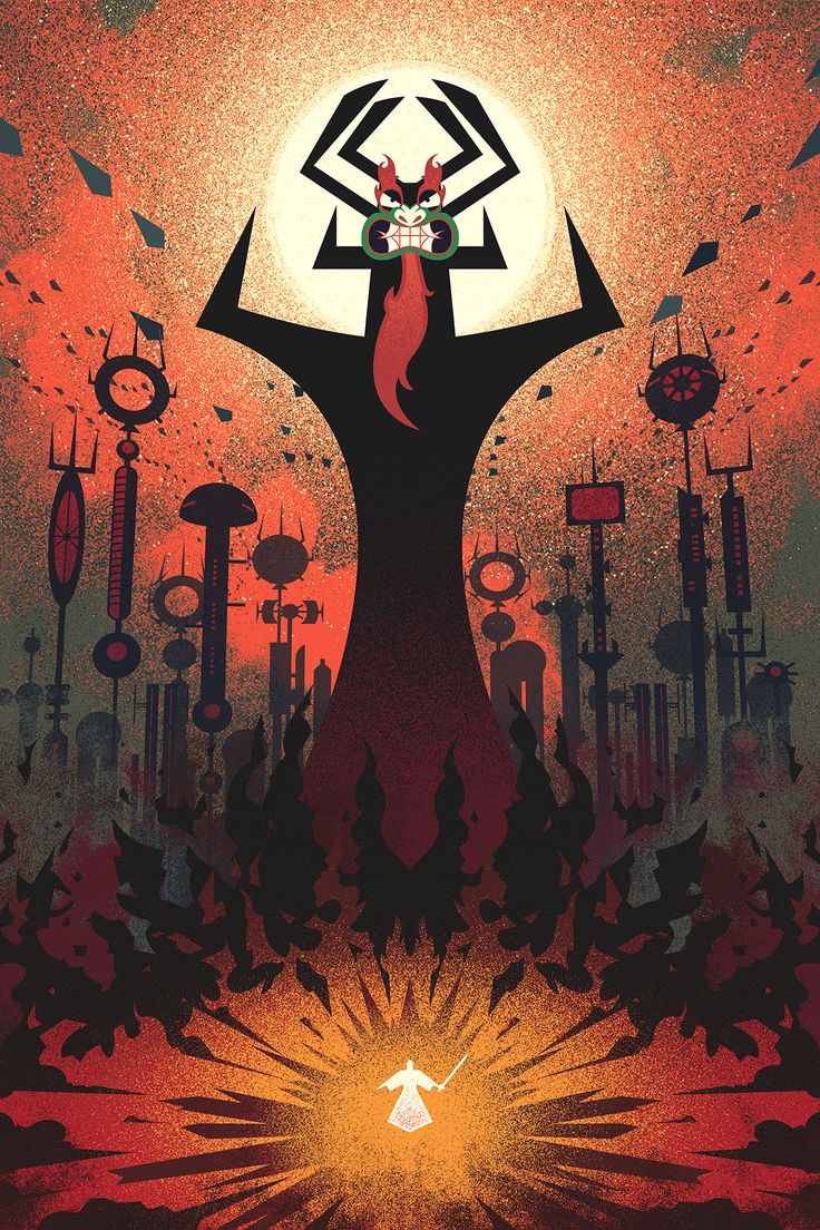 SMITE THE WORLD — fabledcreative:   Samurai Jack by Fabled...