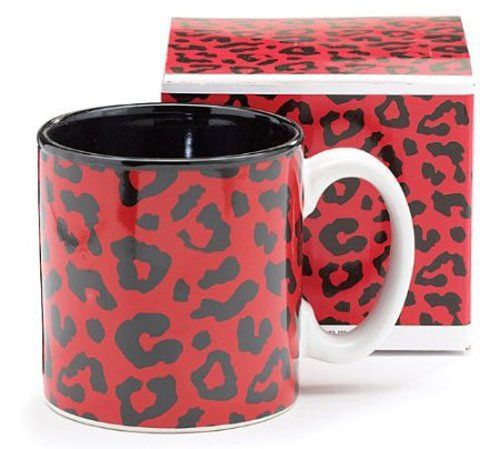 Mug Red Leopard