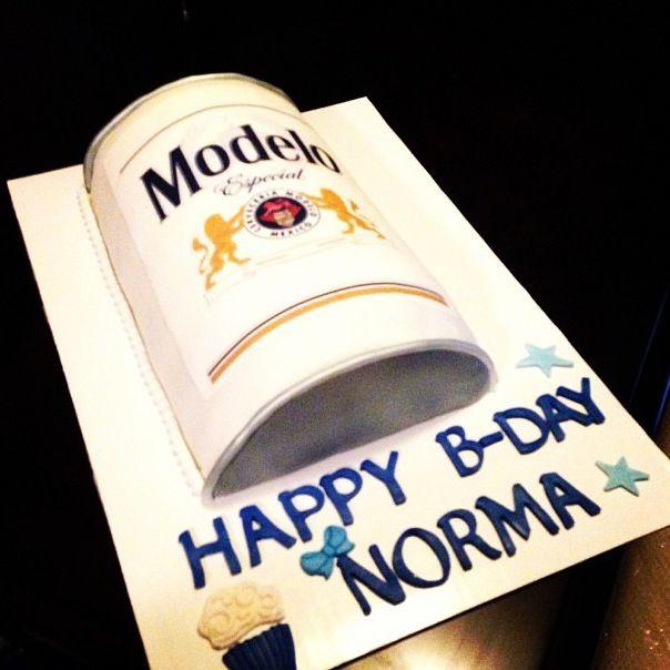 Modelo Beer Cake Cakes Pinterest Cakes