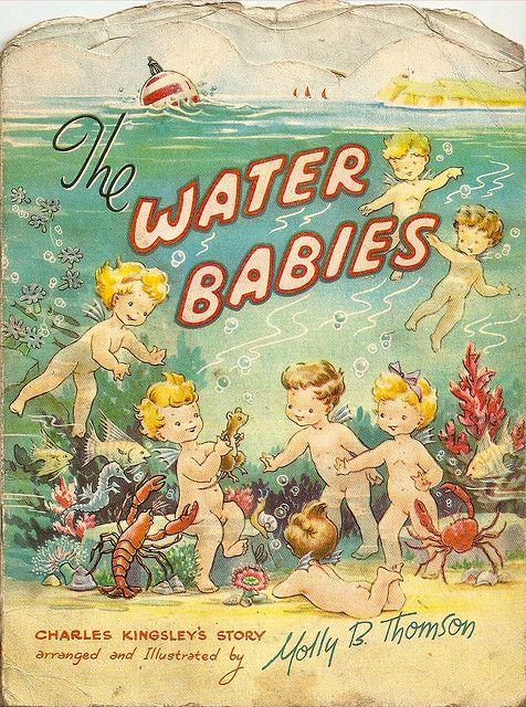 vintage Water Babies book