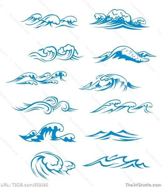 1000+ ideas about Tribal Wave Tattoos on Pinterest   Polynesian ...
