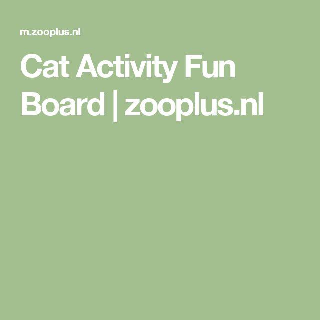 Cat Activity Fun Board | zooplus.nl