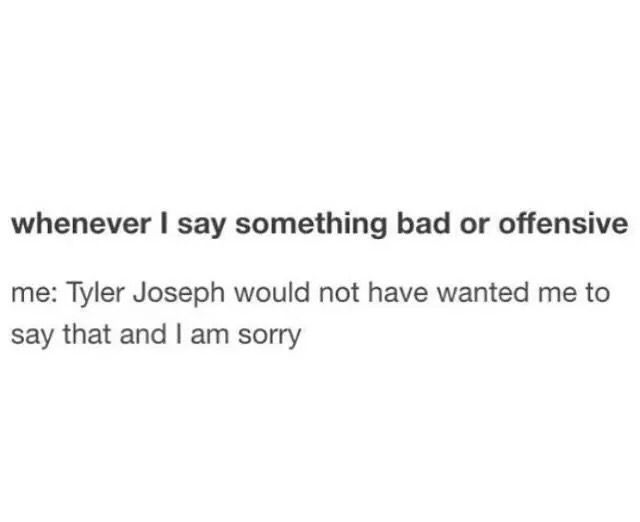 """Or says """"Josh wouldn't like me saying that"""""""