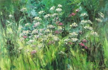 "Saatchi Art Artist Margaret Raven; Painting, ""Fragrant Green"" #art"