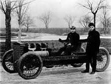 """On this day in 1904, Henry Ford sets a land-speed record of 91.37 mph on the frozen surface of Michigan's Lake St. Clair. He was driving a four-wheel vehicle, dubbed the """"999,"""" with a wooden chassis but no body or hood. Ford's record was broken within a month at Ormond Beach, Florida, by a driver named William K. Vanderbilt; even so, the publicity surrounding Ford's achievement was valuable to the auto pioneer, who in June of the previous year had incorporated the Ford Motor Company."""