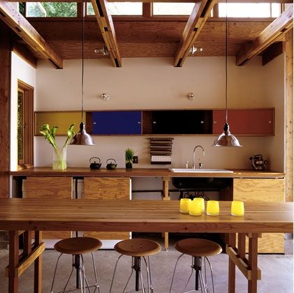 Very interesting kitchen by Dry Design