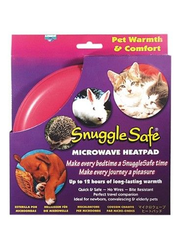 Pet Supply Imports Snuggle Quick Safe Microwave Heat Pad Warmth Comfort