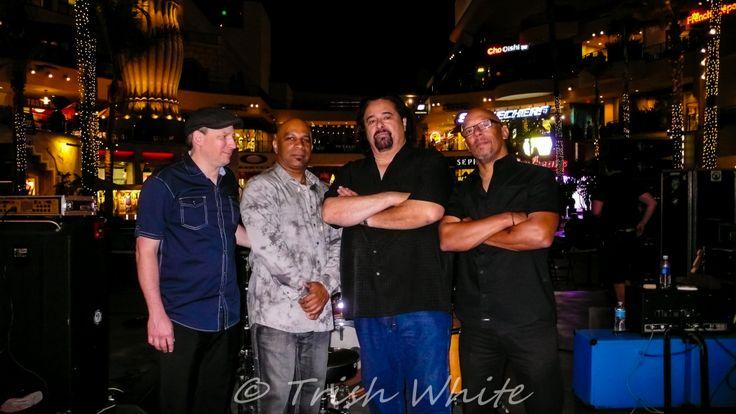 The Coco Montoya Band~Brant Leeper, Nate Brown, Coco Montoya, Rena Beavers....bad asses!!