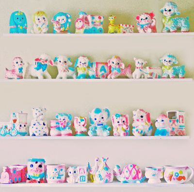 """Kitsch Collection...wow talk about """"cute overkill"""" ...i love it!!"""