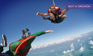 Groupon - Tandem Skydive Jump from 13,000 Feet with T-Shirt at Skydive Kapowsin (Up to 13% Off) in Shelton. Groupon deal price: $174.99