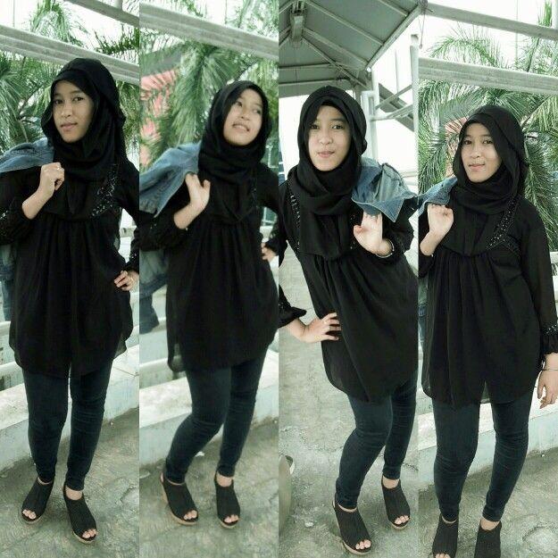 #otd #fashionhijab #ladyrocker #hijab